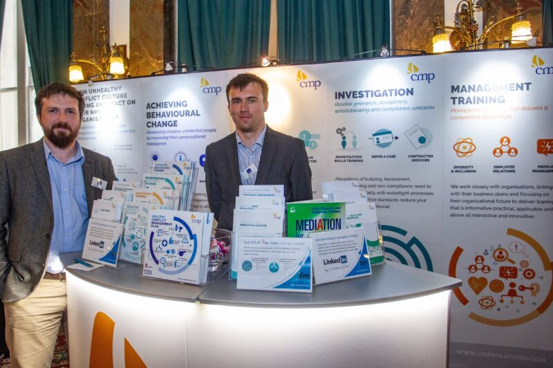 CMP stand at HAF event